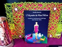 L'Odyssée de Miss Féline, un livre professionnel sur les chats et le toilettage rédigé avec EML-Ecriture.